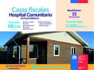 Casas fiscales Hospital de Puerto Williams